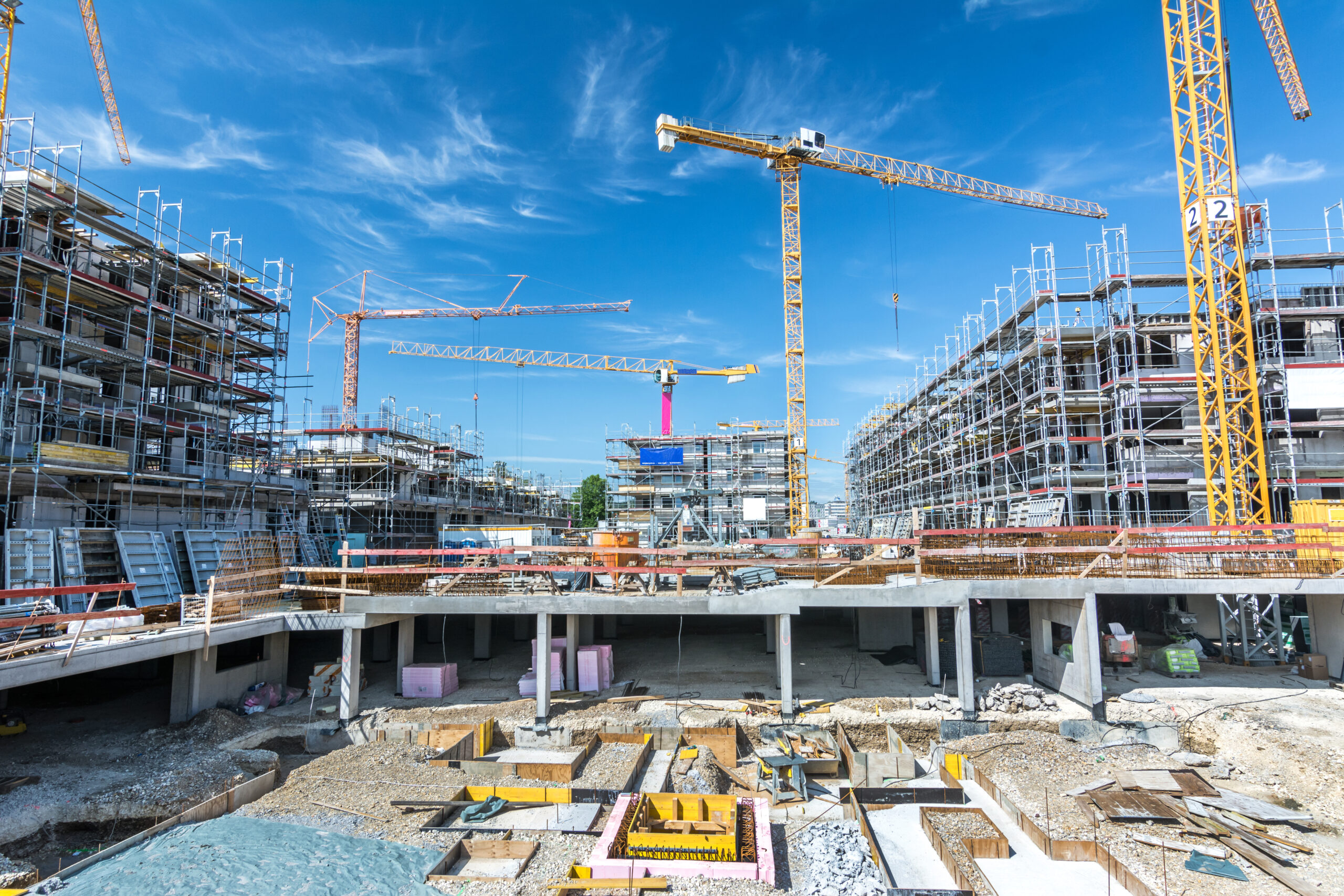 Les chantiers continuent